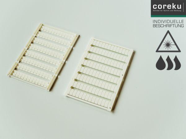 Klemmenkennzeichnung UC-TM5 mit individueller Beschriftung