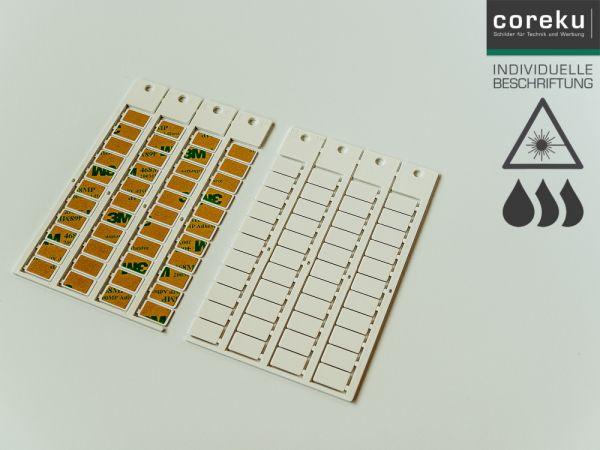 Gerätekennzeichnung KSK 15x9 mit individueller Beschriftung