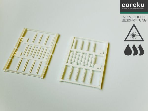 Kabelkennzeichnung UC-WMT (30x4) mit individueller Beschriftung - Lieferung in 3 Werktagen, per Rechnung ►Jetzt bestellen!