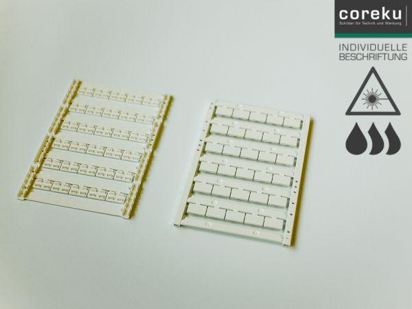 Gerätekennzeichnung UCT-EM (12x7) mit individueller Beschriftung
