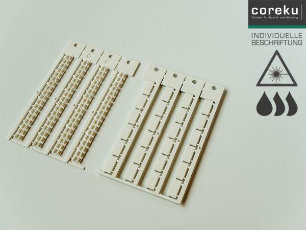 Gerätekennzeichnung ABB 17x9 mit individueller Beschriftung
