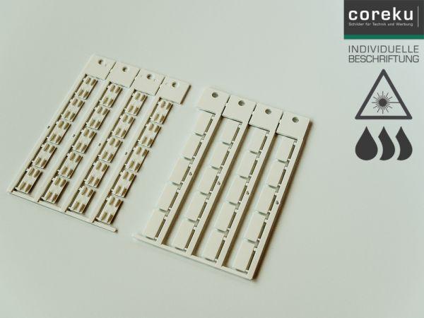Gerätekennzeichnung KSS 20x9 mit individueller Beschriftung