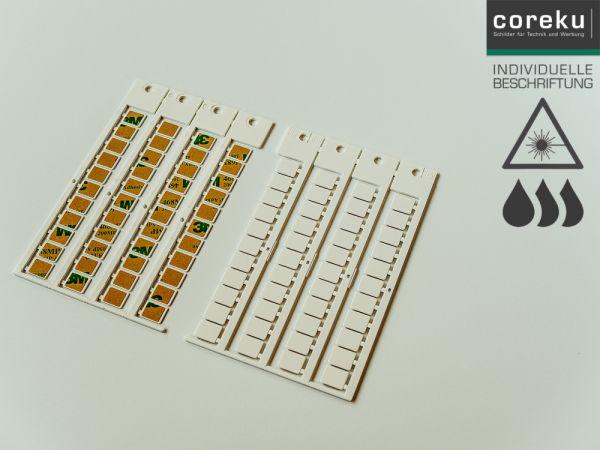 Gerätekennzeichnung KSK 11x9 mit individueller Beschriftung