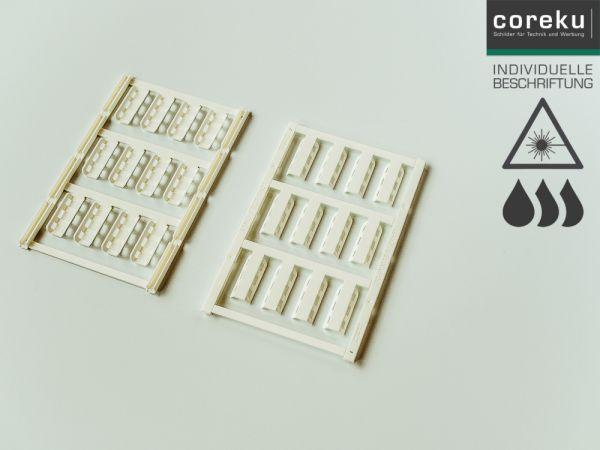 Kabelkennzeichnung UC-WMTBA (24X5) mit individueller Beschriftung