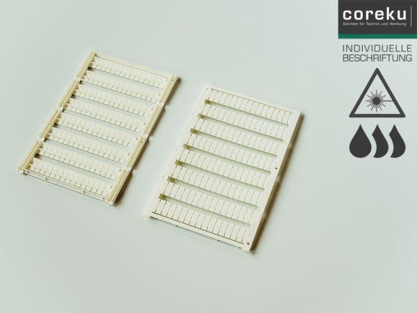 Klemmenkennzeichnung UC-TM4 mit individueller Beschriftung