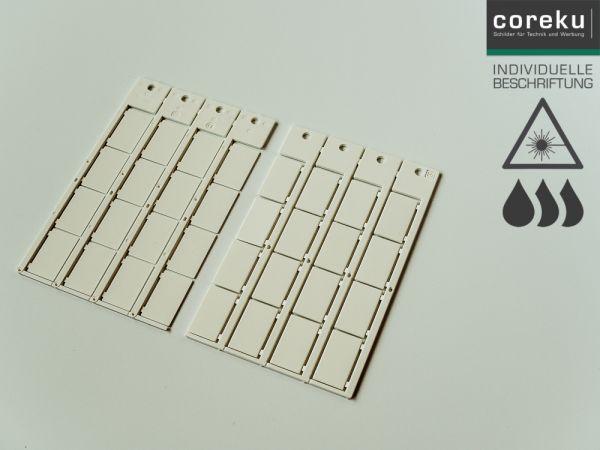 Kabelkennzeichnung KS 15x27 mit individueller Beschriftung