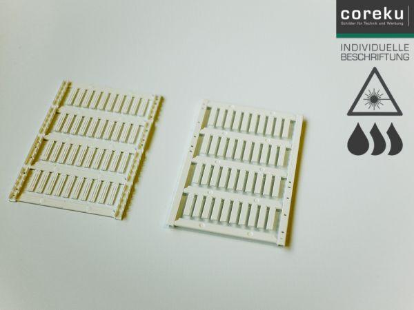 Kabelkennzeichnung UCT-WMT (18x4) mit individueller Beschriftung