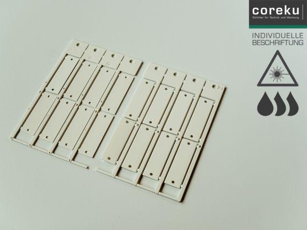 Kabelkennzeichnung KS 15x49 mit individueller Beschriftung