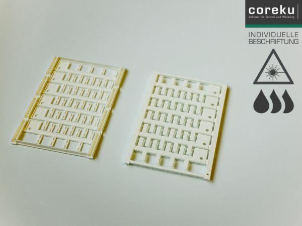 Kabelkennzeichnung UC-WMT (18x4) mit individueller Beschriftung